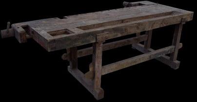 Tavolo Da Lavoro Antico : Antico tavolo da falegname